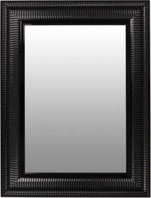 Oglinda dreptunghiulara cu rama din polistiren neagra Howard, 83cm (L) x 63cm (L) x 3cm (H)