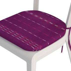 Goldea pernă pentru scaun rotundă din bumbac 39x37cm - model 027 39 x 37 cm