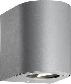 Nordlux Canto 77571010 Aplice pentru iluminat exterior gri COB LED - 2 x 5W 8,8 x 10 x 10,5 cm