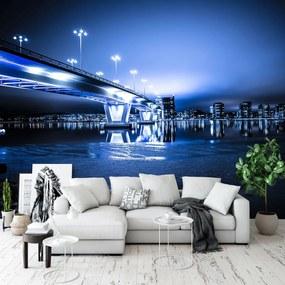Fototapet - Orașul noaptea (254x184 cm), în 8 de alte dimensiuni noi