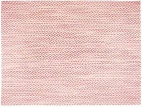 Suport pentru farfurie Tiseco Home Studio Melange Triangle, 30 x 45 cm, roșu deschis