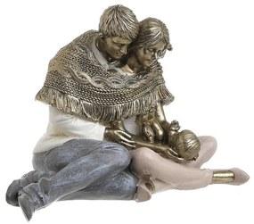 Figurina Family din rasina 16 cm x 12 cm