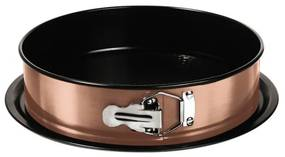 Tava pentru cuptor rotunda cu pereti detasabili 26x6.8 cm Rose Gold Metallic Collection Berlinger Haus BH 6475