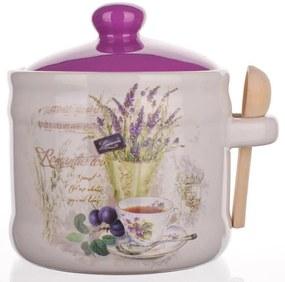 Bol din ceramică cu linguriță Lavender, BANQUET