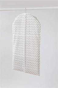 Husă pentru îmbrăcăminte Compactor Clear, lungime 100 cm, alb