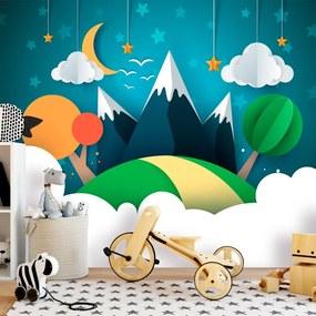 Fototapet Bimago - Little Traveller + Adeziv gratuit 400x280 cm
