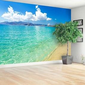 Fototapet plaja Grecia