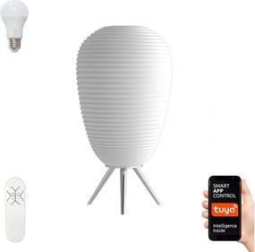 Immax NEO 07064L - LED RGB Lampă de masă dimmabilă COCONO 1xE27/8,5W/100-240V