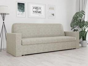 Husa elastica pentru canapea cu 3 locuri Karo bej
