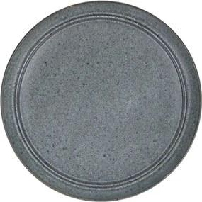 Farfurie Terra din ceramica gri 21 cm