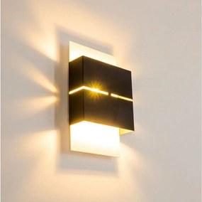 Eglo 78048 - LED Corp de iluminat perete exterior KIBEA 2xLED/2,5W/230V