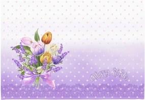 Set 2 suporturi pentru farfurie Apolena Easter Puget Decorative, 33 x 45 cm