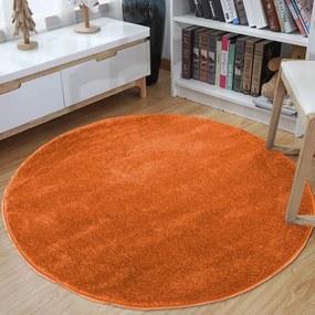 Covor rotund portocaliu Lăţime: 50 cm   Lungime: 50 cm
