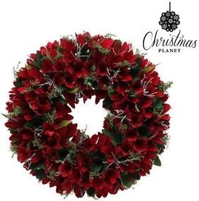 Coroană de Crăciun Christmas Planet 875 Roșu