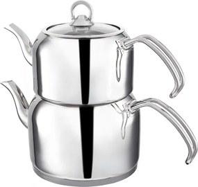 Ceainic dublu din oțel inoxidabil Teafull