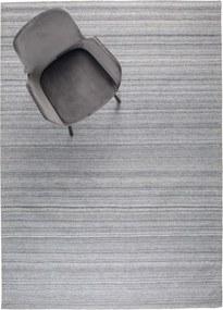 Covor gri 170x240 cm Sanders Silver