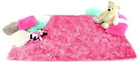 Covor pentru copii din plus – roz aprins 160x230 cm