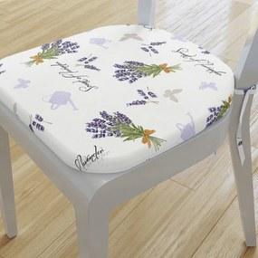 Goldea pernă pentru scaun rotundă decorativă 39x37cm - verona - model 422 39 x 37 cm