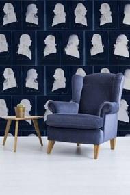 MINDTHEGAP Tapet - Dutch Portraits Blue