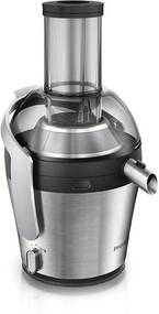 Philips Storcator de fructe Avance Collection HR1871/70, 1000 W, Recipient suc 2.5 l, Tub XXL, Inox