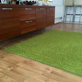 Covor SHAGGY verde 140 x 200 cm