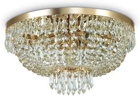 Plafoniera Caesar PL6 Oro, Ideal Lux