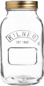 Borcan din sticlă cu capac Kilner, 1 L