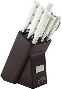 Set de cuţite din inox Berlinger Haus, 8 piese, în suportdin lemn