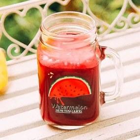 Cana pentru limonada Watermelon 14 cm