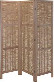 PARAVAN DECORATIV, 132X170 CM, LEMN NATURAL