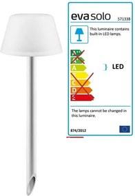 Eva Solo – SunLight garden lamp (with ground spike) Alb translucid