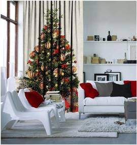 Draperie Christmas Tree, 140 x 260 cm