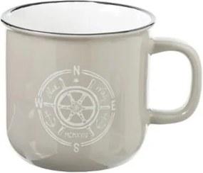 Cana Sailor XL, bej, ceramica, 9,7x9,5, 420 ml