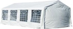 Outsunny Pavilion pentru extern cort pentru petreceri, căsătorii cadru din oțel impermeabil, Alb, 8x4x2.8m