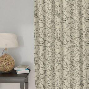 Goldea draperie decorative loneta - model 295 280x140 cm