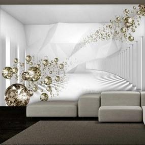 Fototapet - Diamond Corridor 300x210 cm