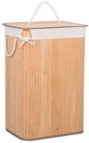 Cos de rufe, 72 L, imitatie bambus, Springos