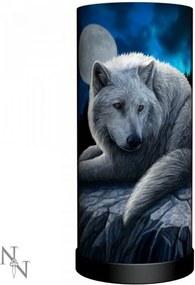 Veioza lup Gardianul Nordului - Lisa Parker - 28 cm