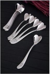 Set 12 linguri din oțel inoxidabil Kutahya Lolly, lungime 11 cm