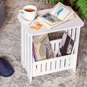 Măsuță cu compartiment pentru ziare