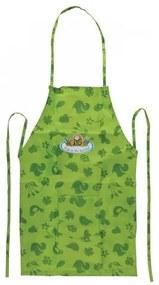 Sort pentru copii cu buzunar, Kertis Verde, l34,5xH83 cm