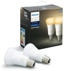 SET 2x LED Bec dimmabil Philips HUE WHITE AMBIANCE E27/8,5W/230V 2200-6500K