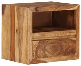 246215 vidaXL Noptieră din lemn masiv de sheesham, 40 x 30 x 35 cm