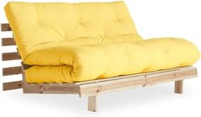 Canapea variabilă Karup Design Roots Raw/Yellow