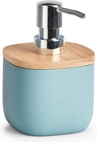 Distribuitor de săpun lichid, polirasină, albastru, ZELLER