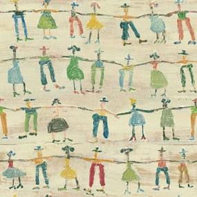 MINDTHEGAP Tapet - Little People