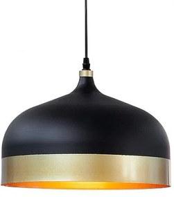 Pendul Modern Chic II negru/ auriu