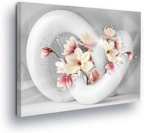 GLIX Tablou - Flower Toboggan 80x60 cm