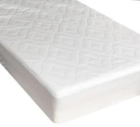 Protecţie matlasată pentru saltea, acoperire integrală 160 x 200 cm