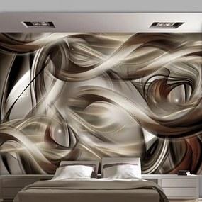Fototapet Bimago - Brown Revelry + Adeziv gratuit 250x175 cm